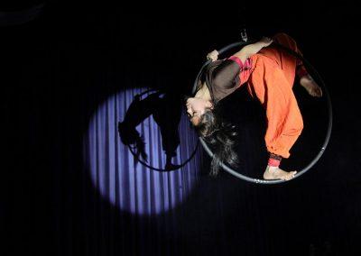 Aerial hoop solo